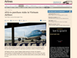 Periódico británico: Vietnam, un mercado atractivo para grupo aéreo japonés ANA