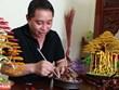 Obras maestras de bonsái hechas con alambres de cobre en Vietnam