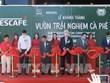 Jardín despierta amor por café vietnamita