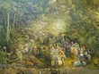 Completan gran pintura panorámica sobre histórica batalla de Dien Bien Phu