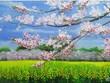 Joven vietnamita crea pinturas 3D de flores de arcilla