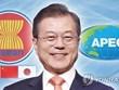 Presidente de Corea del Sur asistirá a Cumbre de la ASEAN en Singapur