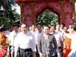 Participa máxima legisladora de Vietnam en Festival de Gran Unidad Nacional