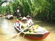 Disminuye arribo de turistas en el delta del río Mekong en Vietnam por COVID-19