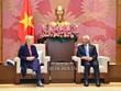 Vietnam valora nexos con Alemania, afirma vicepresidente parlamentario