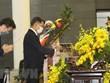Rinden homenaje a exdirigente partidista de Vietnam unas 660 delegaciones