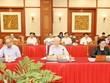 Máximo dirigente de Vietnam destaca preparativos por XVII Asamblea del Comité partidista en Hanoi
