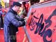 Exposición de caligrafía en conmemoración al aniversario de fundación de Thang Long - Hanoi