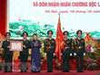 Presidenta del Parlamento vietnamita asiste al acto por los 70 años del Día Tradicional de periódico Ejército Popular