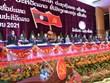 Dirigente de Vietnam felicita a Laos por el éxito del XI Congreso Nacional del PPRL
