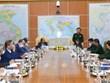 Viceministro vietnamita de Defensa recibe a jefes de las misiones representativas en el extranjero