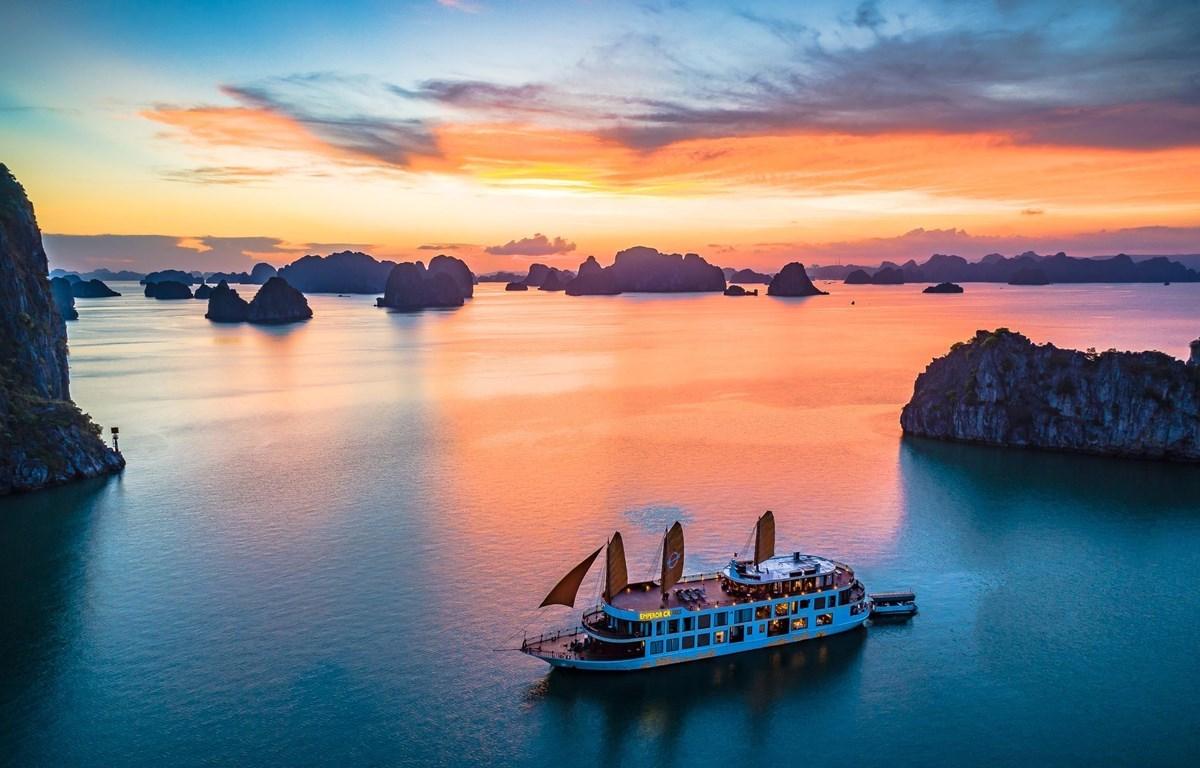 El turismo de Vietnam también sufriendo la falta de oxígeno debido al nuevo rebrote del COVID-19. (Foto de ilustración: Vietnam+)