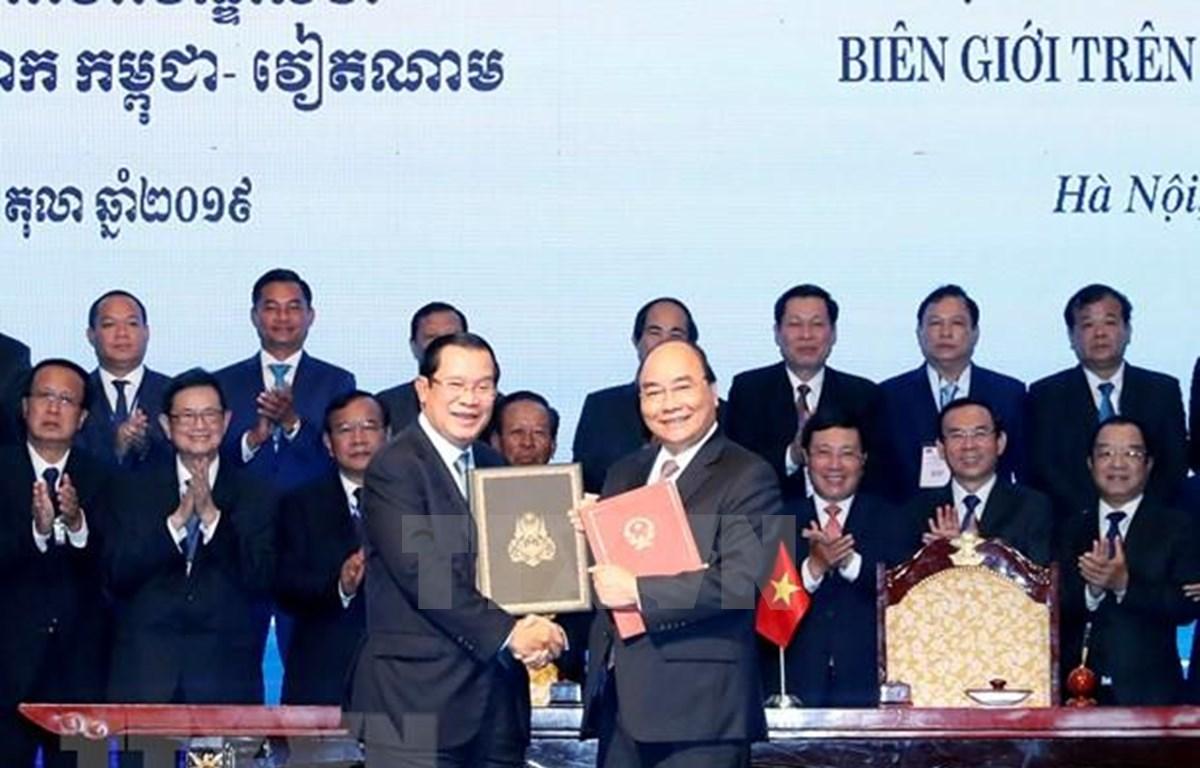 Vietnam y Camboya comprometidos a seguir consolidando nexos amistosos
