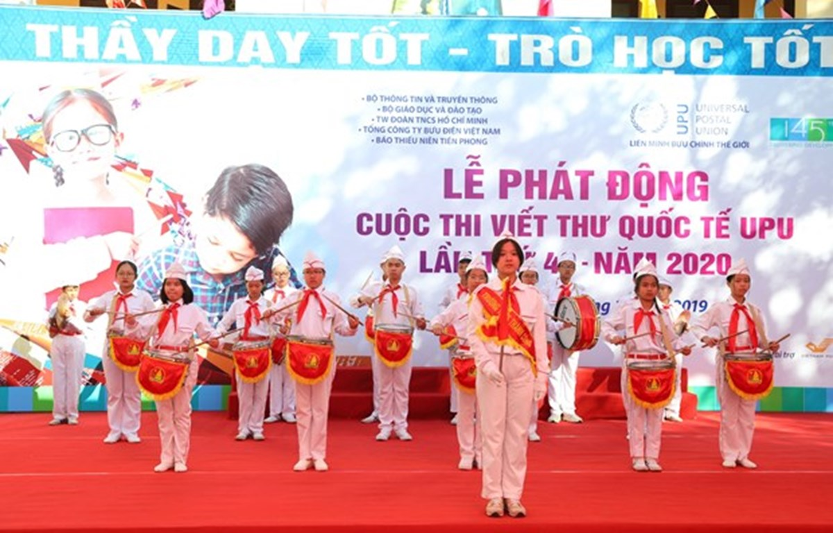 Convoca en Vietnam concurso internacional de composiciones epistolares 2020