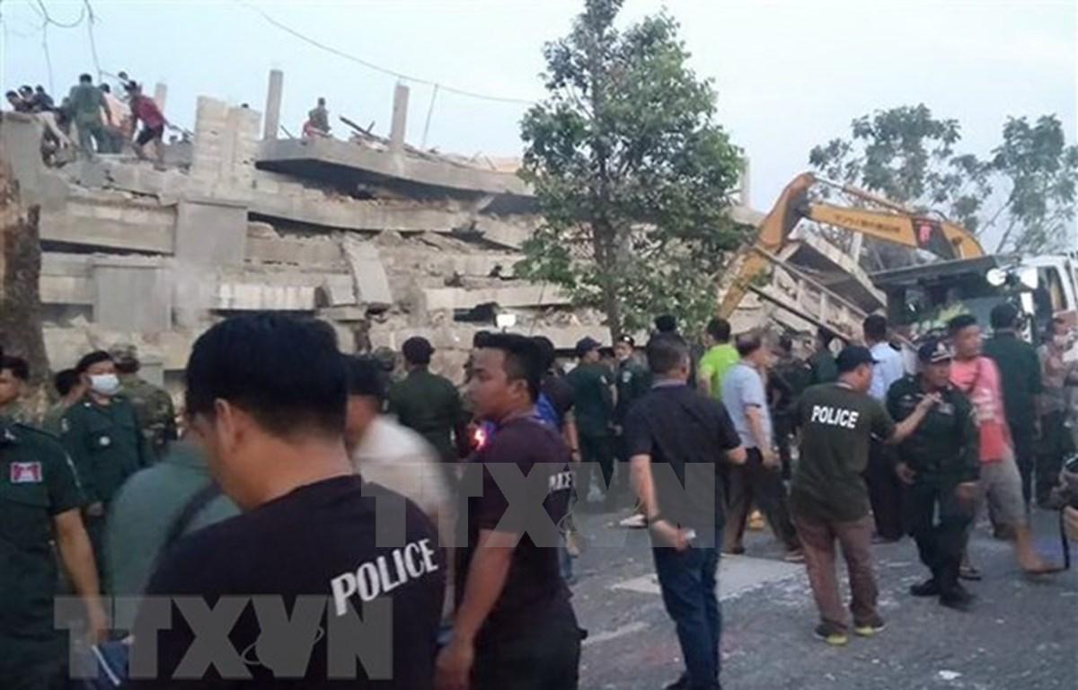 No se reporta víctima vietnamita en colapso de edificio en provincia camboyana