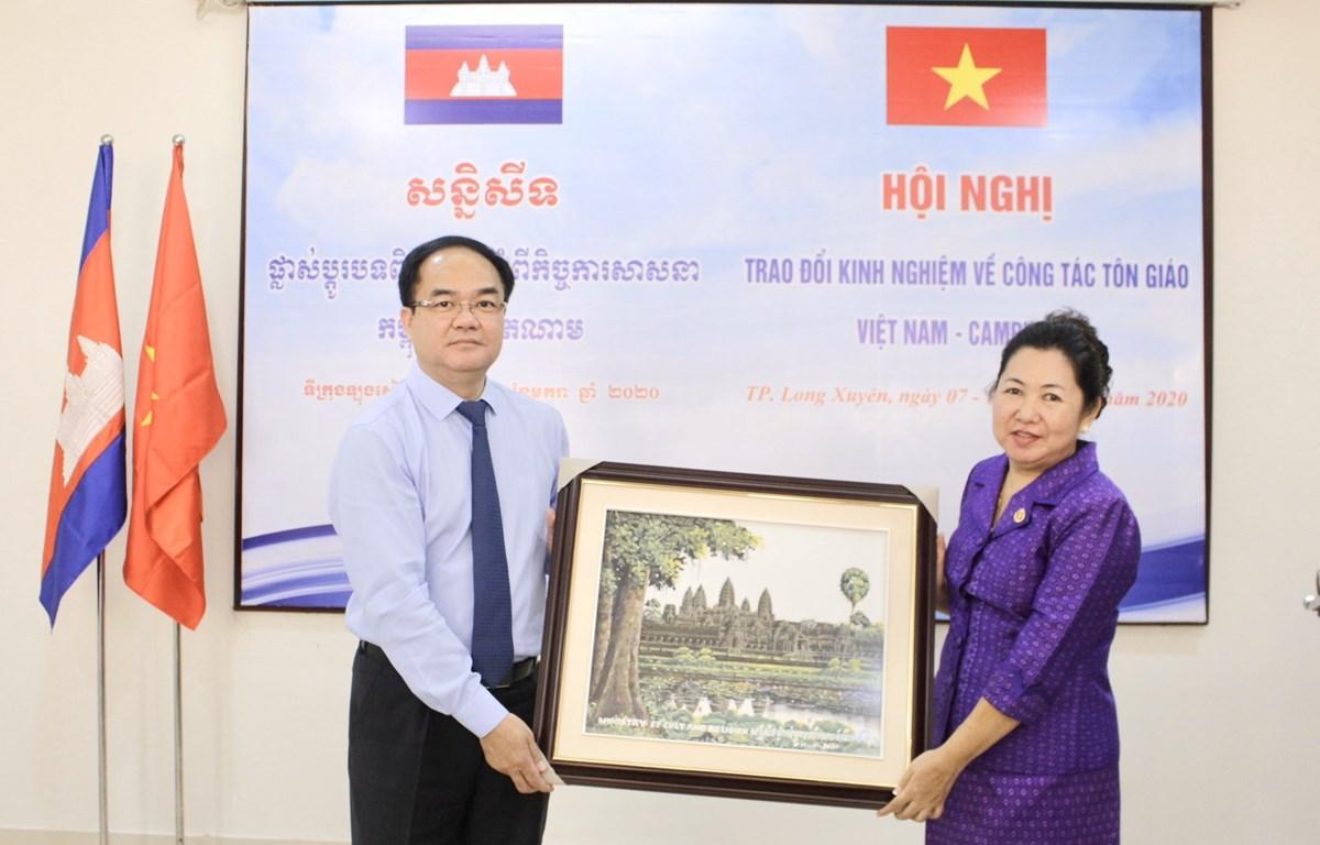 Intercambian Vietnam y Camboya experiencias en asuntos religiosos