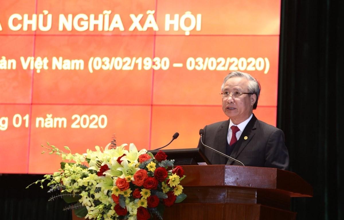 Efectúan seminario sobre Partido Comunista de Vietnam en ocasión de su fundación
