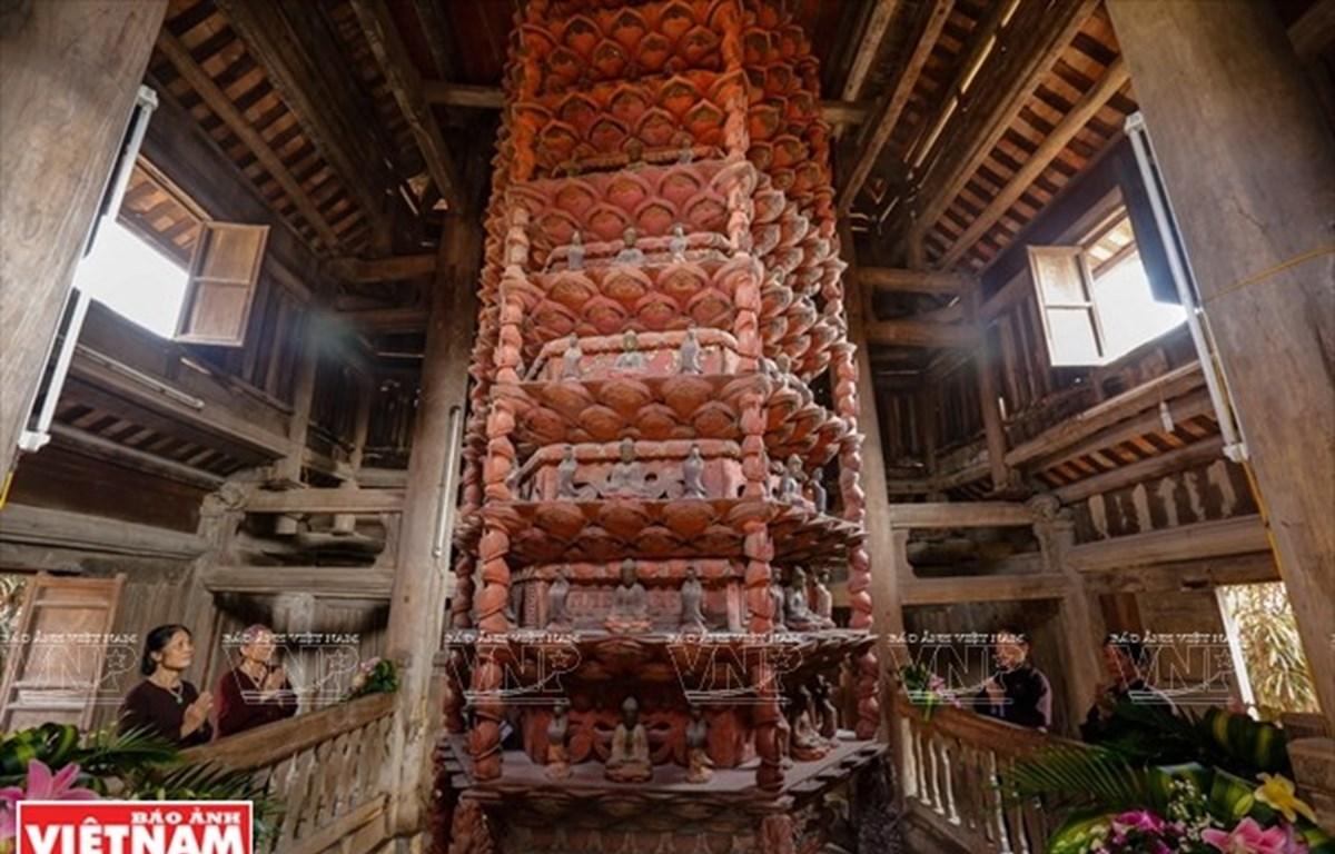 Tesoro del budismo en pagoda Giam