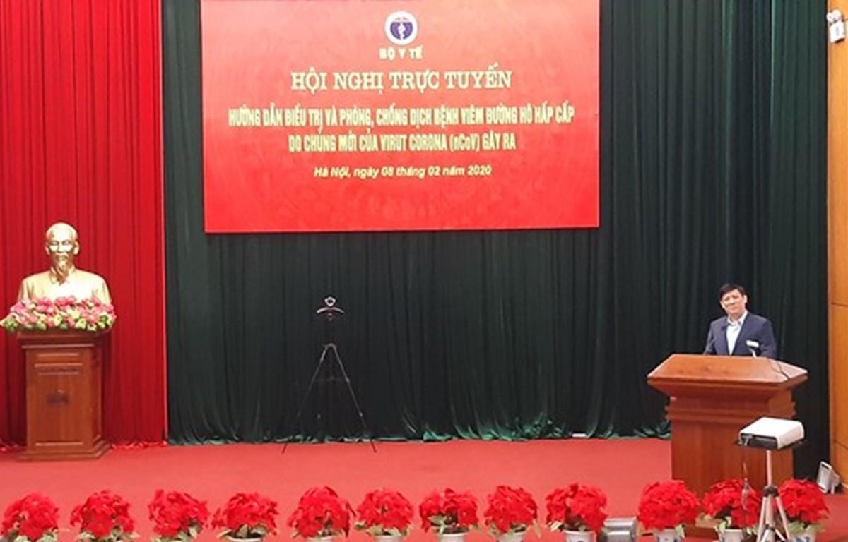 Efectúan en Vietnam conferencia en línea entre hospitales sobre lucha contra el nCoV