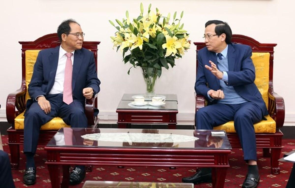 Fomentan Vietnam y Corea del Sur cooperación en formación vocacional