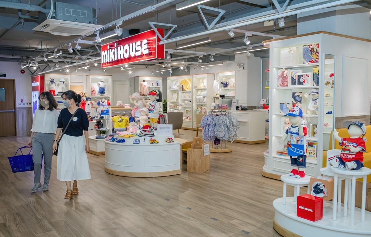 Inauguran en Vietnam primera tienda de marca japonesa de ropa infantil MIKI HOUSE