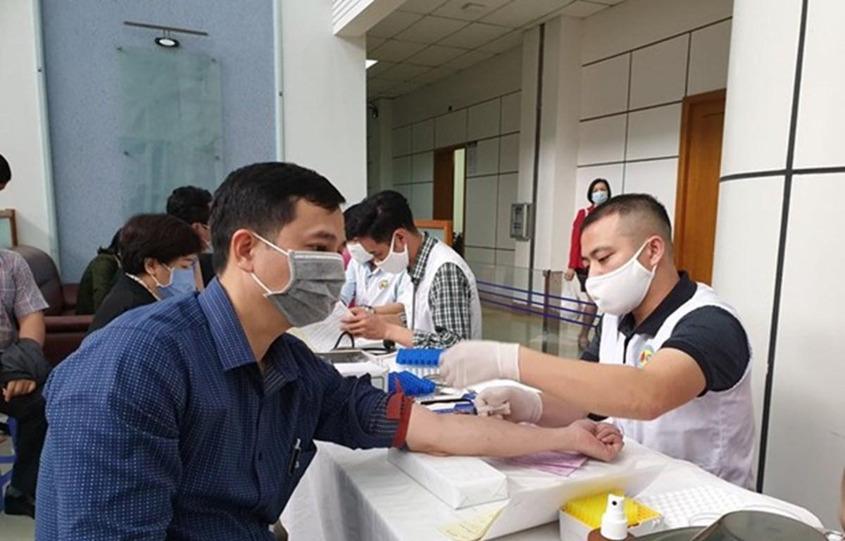 Máximo dirigente político de Vietnam llama a la ciudadanía a donar sangre