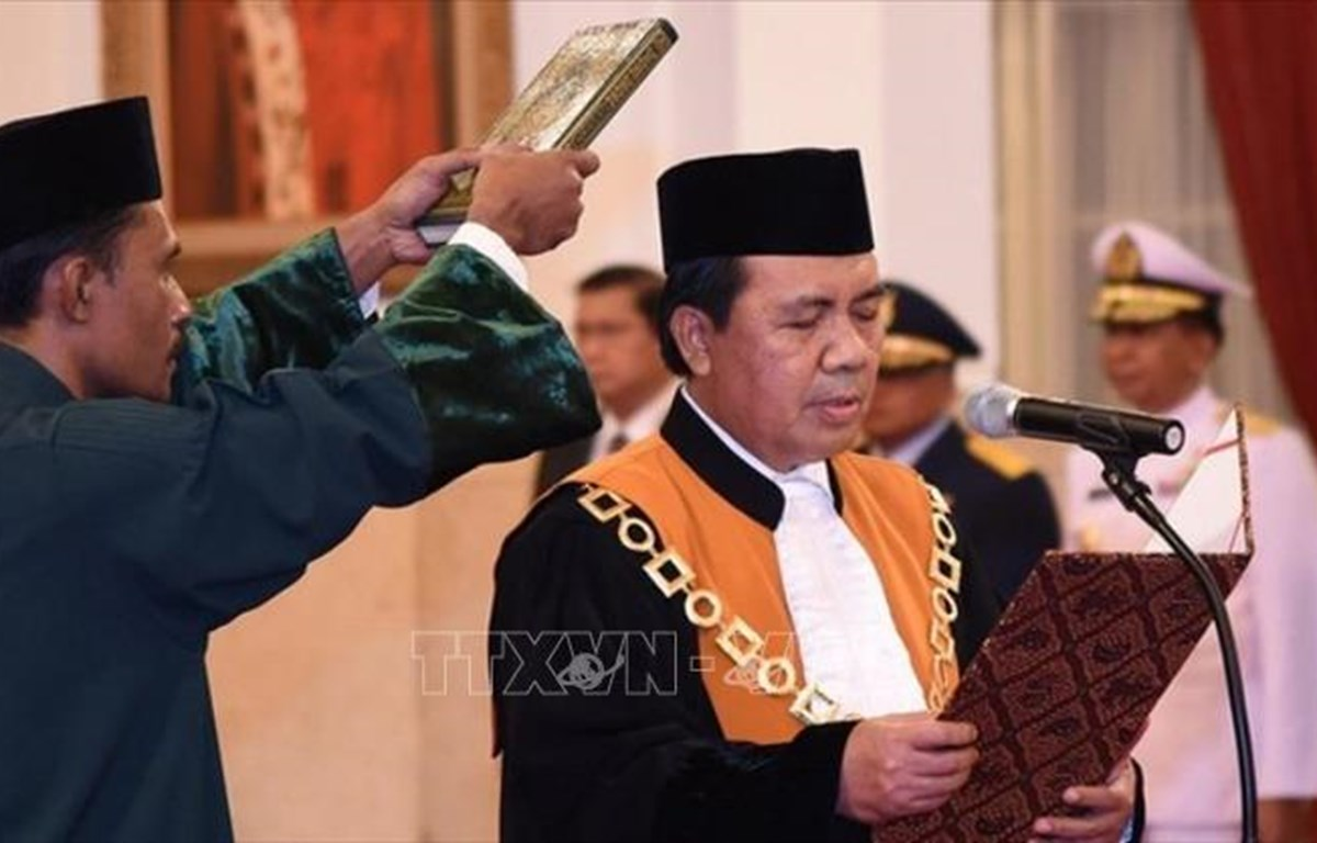 Indonesia designa nuevo juez principal para Corte Suprema