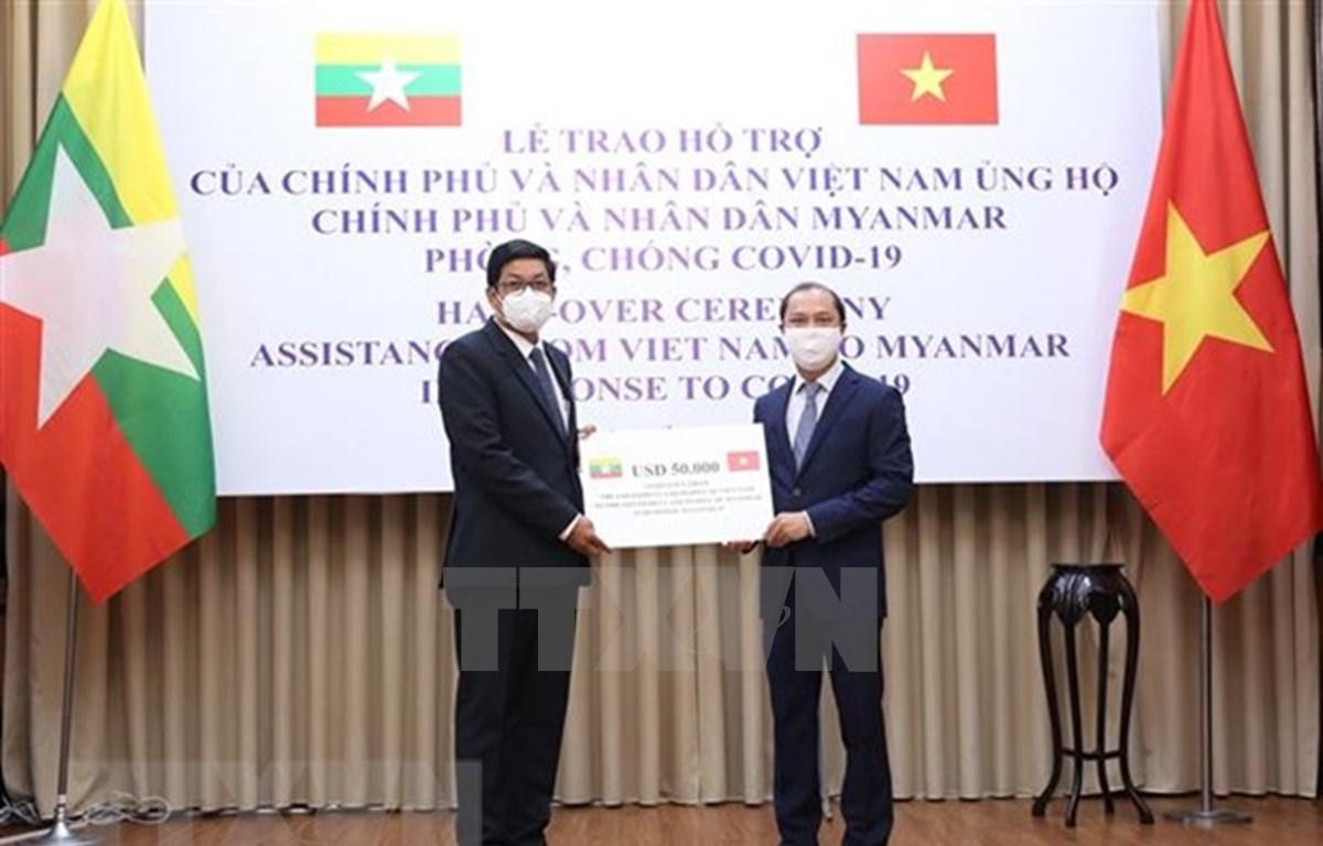 Vietnam apoya a Myanmar en la lucha contra COVID-19