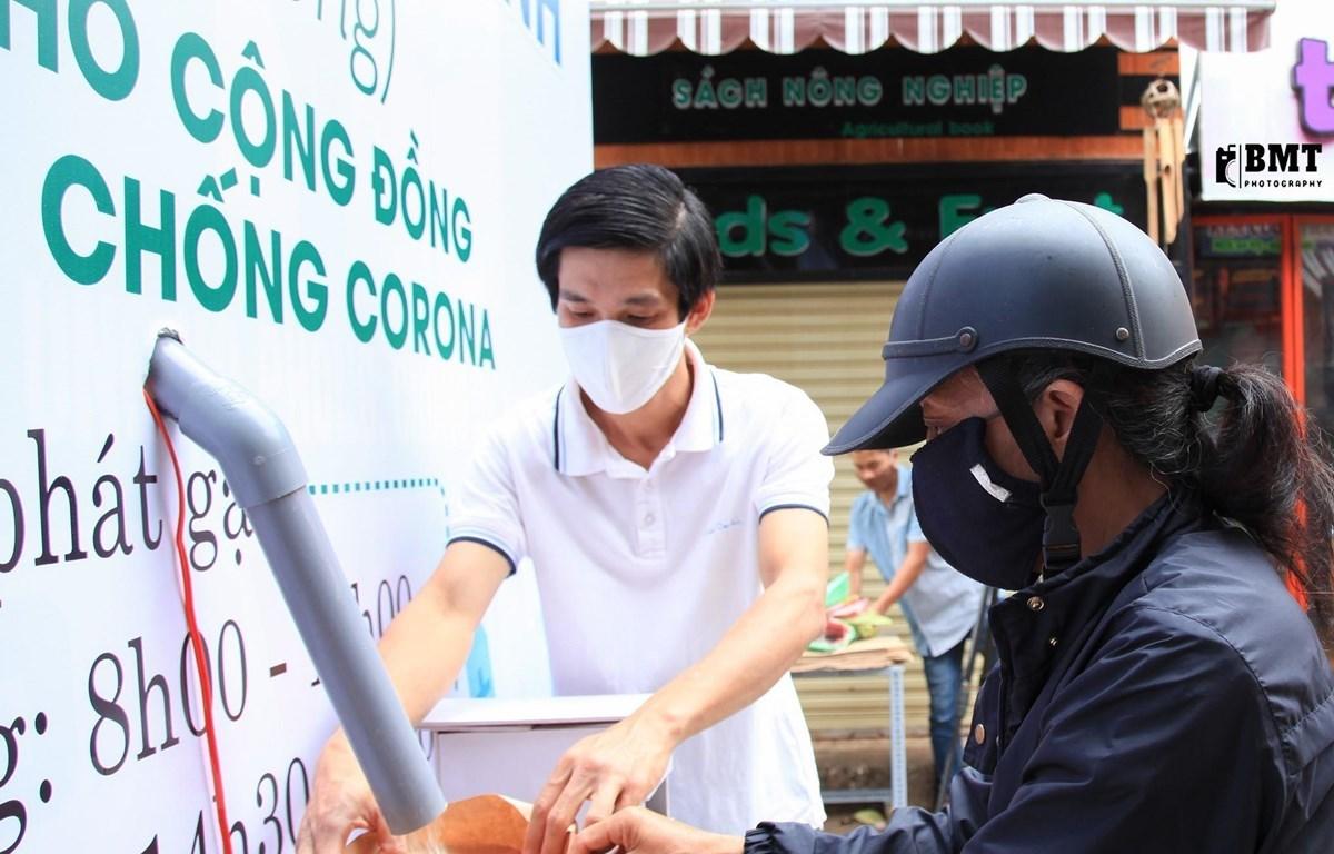 """Instalan """"cajero automático"""" de arroz en la Altiplanicie Occidental de Vietnam"""