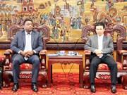 Buscan grupos españoles oportunidades de inversión en Vinh Phuc
