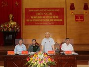 Líder partidista vietnamita mantiene contacto con electores de base