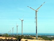 Arranca construcción de parque eólico en Binh Thuan