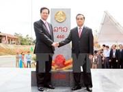 Provincias Vietnam-Laos concluyen remozamiento de hitos fronterizos