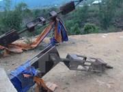 Condenados sujetos responsables de colapso de puente en Lai Chau