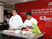 En Hanoi un pequeño mundo de arte culinario peruano