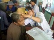Atienden a pacientes pobres en Delta de río Mekong