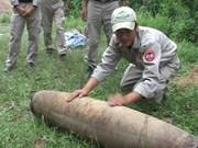 Desactivan bomba de 200 kilogramos en Quang Tri