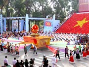 Miles de vietnamitas desfilarán por grandiosas efemérides nacionales