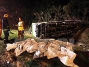 Cambodia: Al menos 12 muertos por accidente de bus