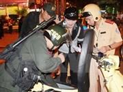 Ciudad Ho Chi Minh honra aportes de la policía