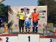 Ciclista vietnamita gana bronce en torneo asiático de montaña