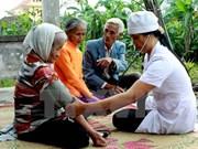 Voluntarios sudcoreanos realizan actividades humanitarias en Quang Tri