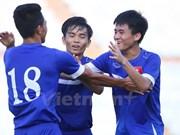 Participará selección vietnamita de fútbol sub-19 en torneo regional