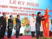 Diplomacia vietnamita honrada con Orden de Estrella Dorada