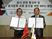 Impulsan cooperación Vietnam-Sudcorea en turismo gastronómico