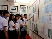 Exposición sobre Hoang Sa y Truong Sa en Hau Giang