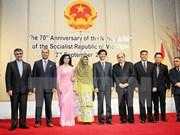 Actividades en exterior por Día Nacional de Vietnam