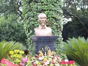 Inauguran en México otro busto de Ho Chi Minh