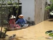 Enormes pérdidas en Thanh Hoa por intensas lluvias