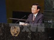 Vietnam ratifica política exterior de paz, cooperación y desarrollo